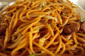 Cocina China: Pollo Chow Mein